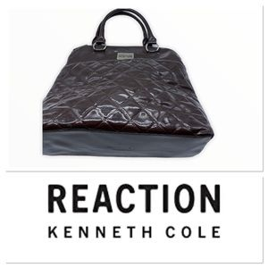 Kenneth Cole Reaction chocolate brown bag